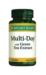 Natures Bounty - Nature's Bounty Multi-Day with Green Tea Extract 50 Tablet
